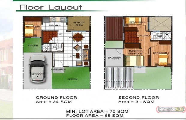 Photo #4 Townhouse for sale in Metro Manila, Taguig