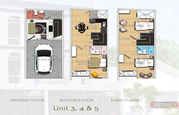 Photo #4 Townhouse for sale in Metro Manila, Mandaluyong
