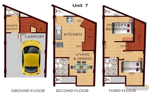 Photo #9 Townhouse for sale in Metro Manila, Manila