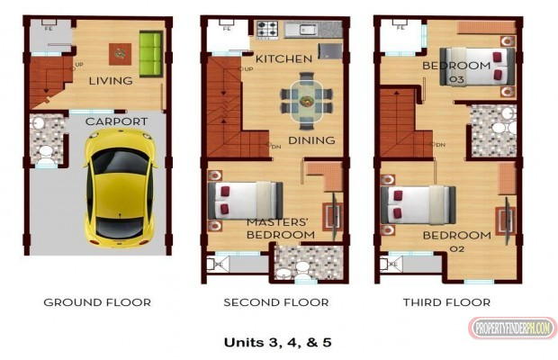 Photo #6 Townhouse for sale in Metro Manila, Manila