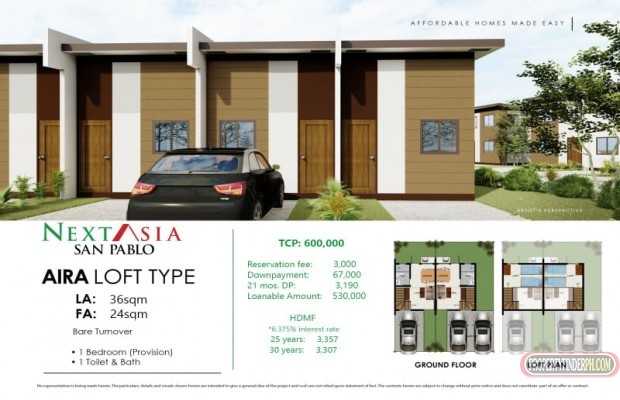Photo #1 House and Lot for sale in Laguna, San Pablo City