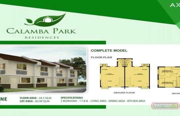 Photo #2 House and Lot for sale in Laguna, Calamba City