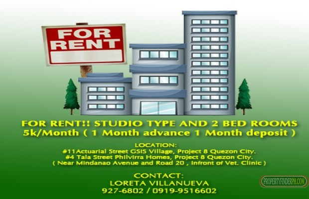 for rent House in Quezon City