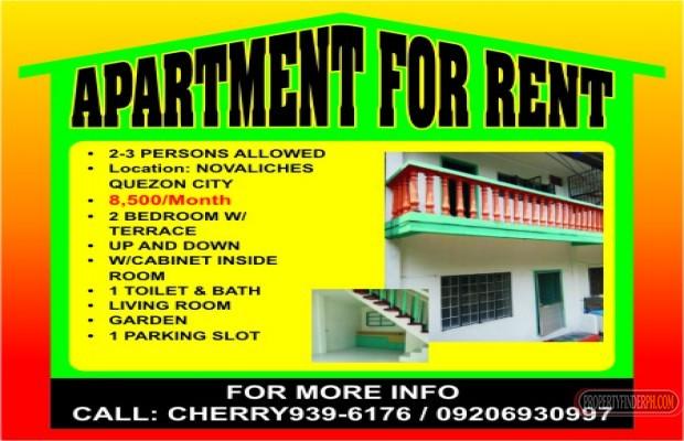 Photo #2 Apartment for rent in Metro Manila, Quezon City