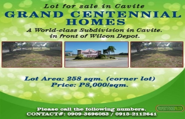 Photo #1 Residential Land for sale in Cavite, Cavite City