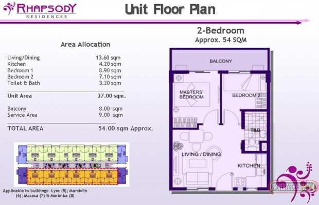 Photo #9 Condominium for sale in Metro Manila, Muntinlupa