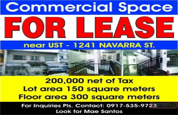 Photo #1 Building Space for rent in Metro Manila, Manila