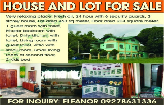 Photo #1 House and Lot for sale in Rizal, Taytay