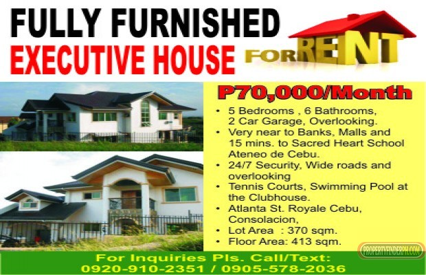 Photo #1 House and Lot for rent in Cebu, Consolacion