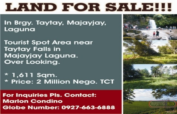 Photo #1 Residential Land for sale in Laguna, Majayjay