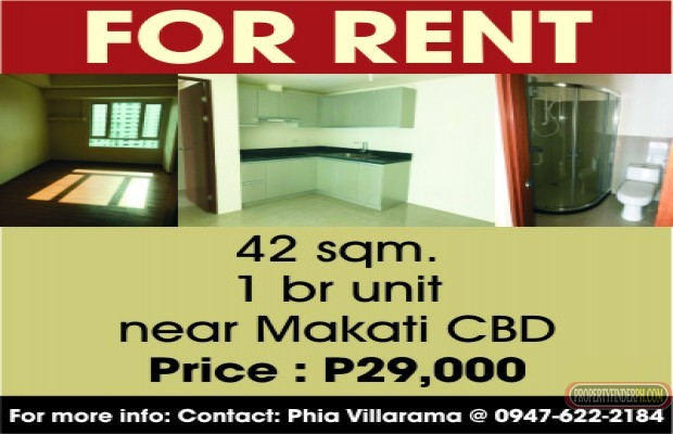 Photo #1 Condominium for rent in Metro Manila, Makati