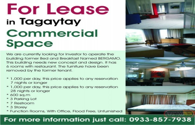 Photo #1 Other for rent in Cavite, Tagaytay City