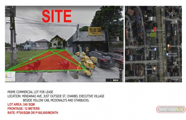 Photo #2 Commercial Land for rent in Metro Manila, Quezon City