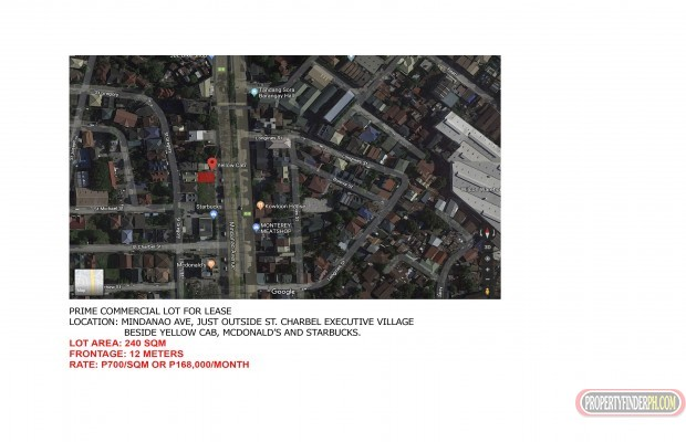 Photo #4 Commercial Land for rent in Metro Manila, Quezon City