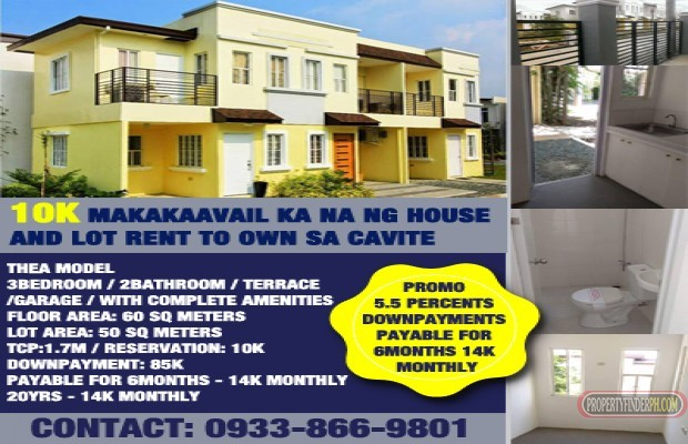 Photo #1 House and Lot for sale in Cavite, Imus