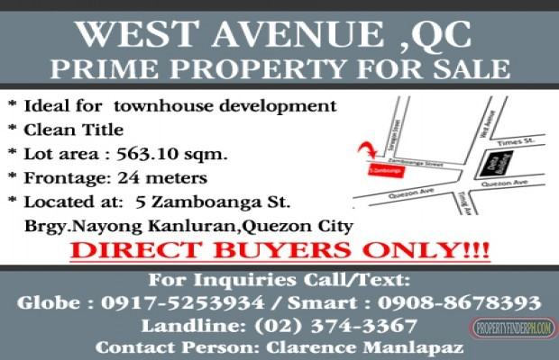 Photo #1 Commercial Land for sale in Metro Manila, Quezon City