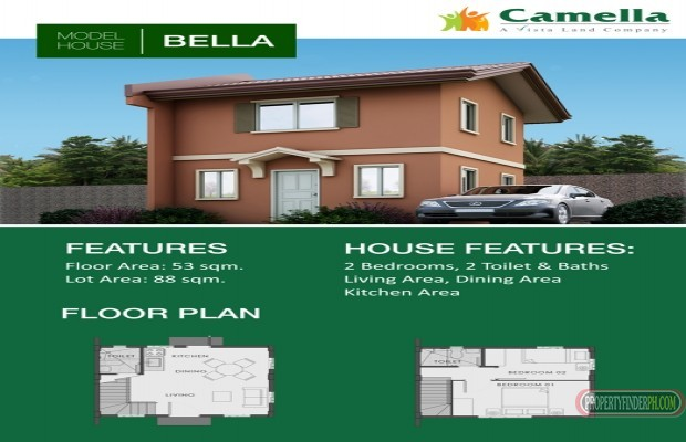 Photo #6 House and Lot for sale in Laguna, San Pablo City