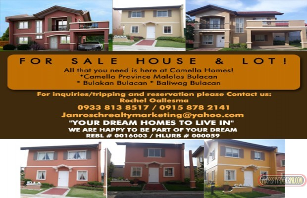 Photo #1 House and Lot for sale in Bulacan, Malolos City