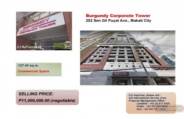 For Sale Office Space In Makati