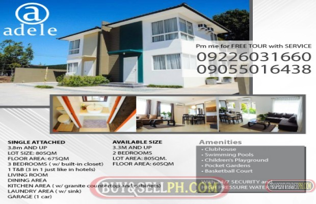 Photo #1 House and Lot for sale in Laguna, San Pedro