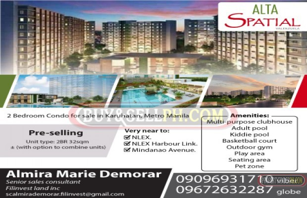 Photo #1 Condominium for sale in Metro Manila, Valenzuela
