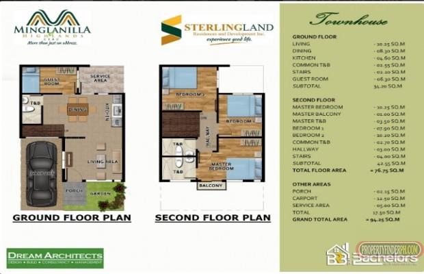 Photo #3 Townhouse for sale in Cebu, Minglanilla