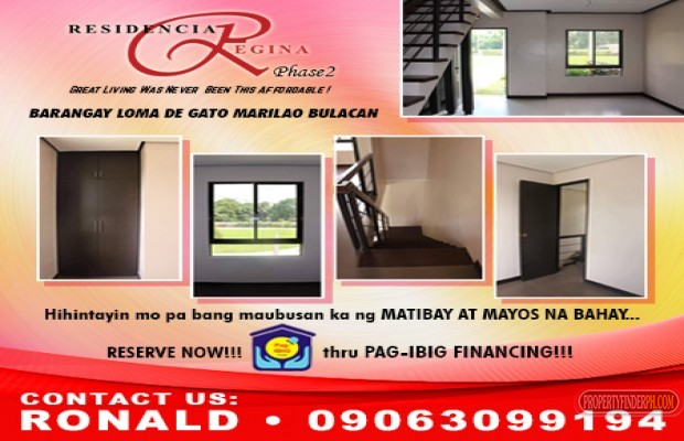 Photo #1 Townhouse for sale in Bulacan, Marilao