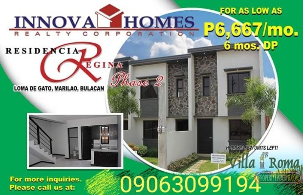 Photo #2 Townhouse for sale in Bulacan, Marilao