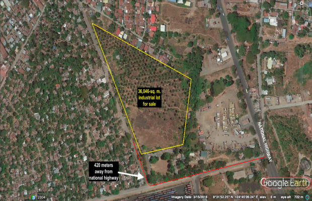 Photo #1 Industrial Land for sale in Misamis Oriental, Tagoloan
