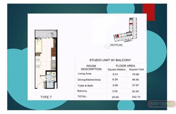 Photo #10 Condominium for sale in Metro Manila, Makati