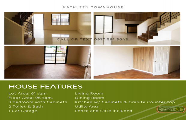 Photo #2 Townhouse for sale in Metro Manila, Las Piñas