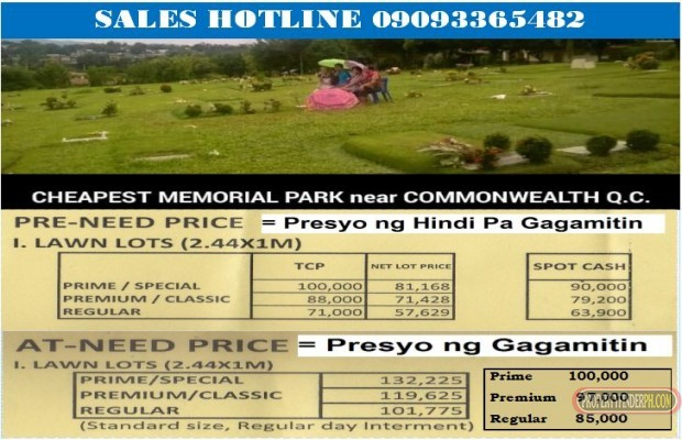 Photo #2 Memorial Land for sale in Metro Manila, Quezon City