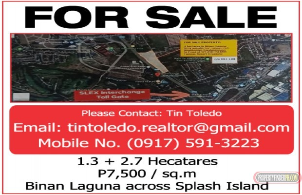 Photo #1 Commercial Land for sale in Laguna, Binan