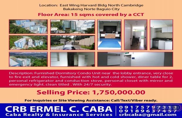 Photo #1 Condominium for sale in Benguet, Baguio City