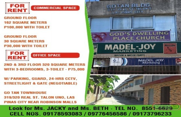 Photo #1 Building Space for rent in Metro Manila, Las Piñas