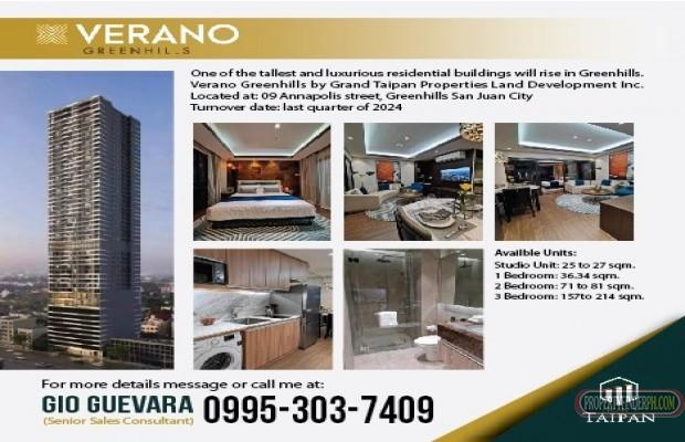 Photo #1 Condominium for sale in Metro Manila, San Juan