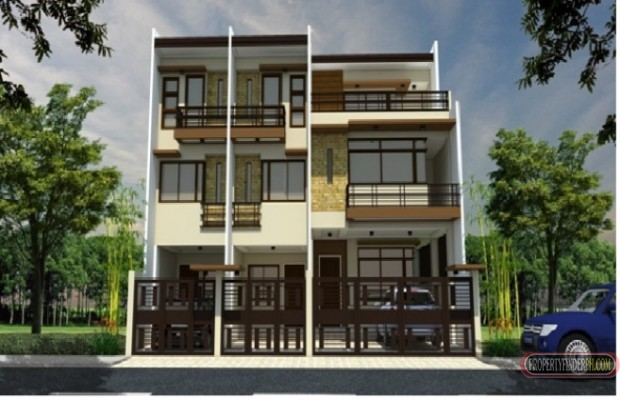 Photo #1 Townhouse for rent in Metro Manila, Quezon City
